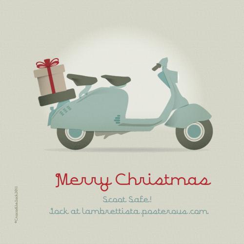 Lambrettista-ldchristmascard