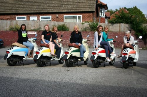 Lambretta-girls