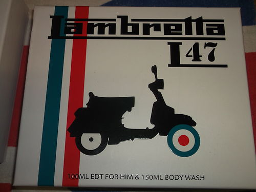 LAMBRETTA L47 100ml EDT and 150ml of body wash gift set