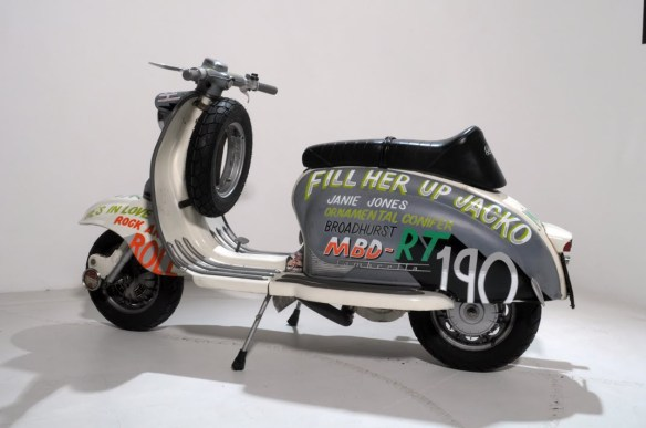 The scooterist - lambretta (4)