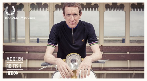 Bradley Wiggins Fred Perry shots