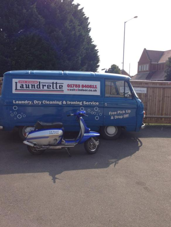 Wash Windsor Laundrette Van