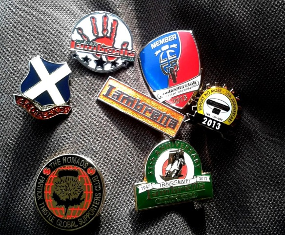 Scooter Badges