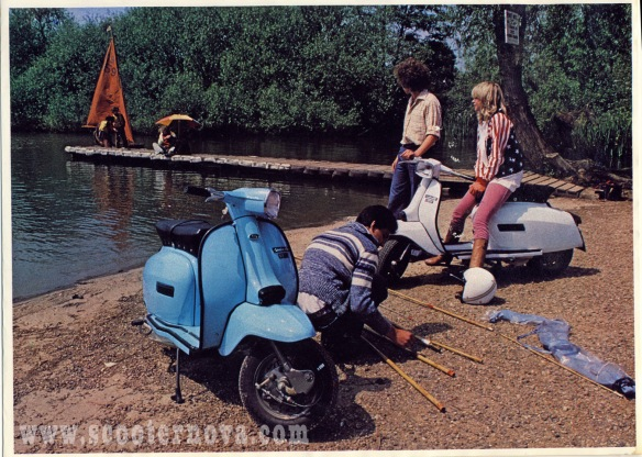 Jo Wood Lambretta Brochure