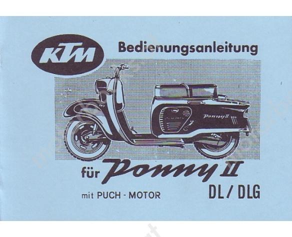 ktm_ponny_ii_dl_dlg_mit_puch_motor_betriebsanleitung_die_technischen_daten_fuer_den_puch_motor_sind_beiliegend_vv_2807