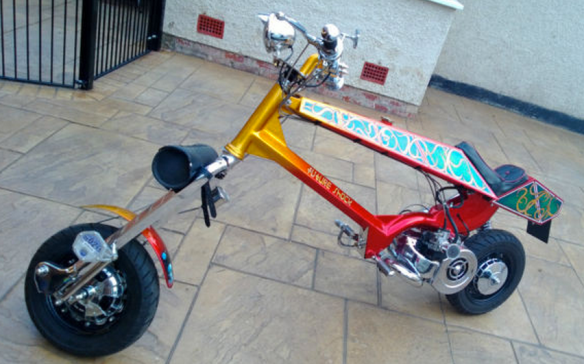 Future Shock Lambretta Chopper