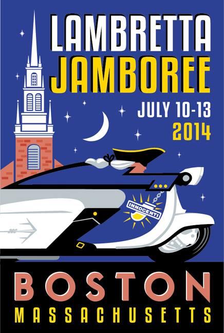 Lambretta Jubilee Boston