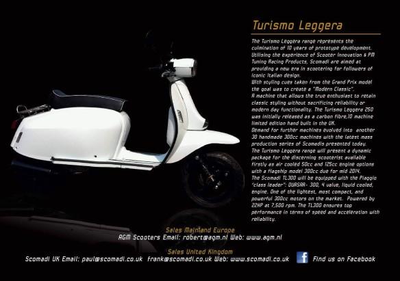 Turismo Leggera Brochure Page
