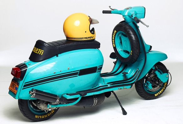 Blue Ashtray Lambretta GP