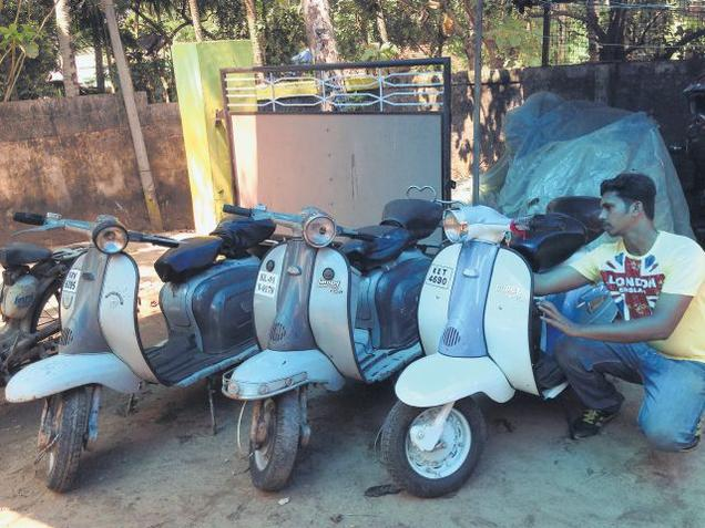 Indian Lambrettas