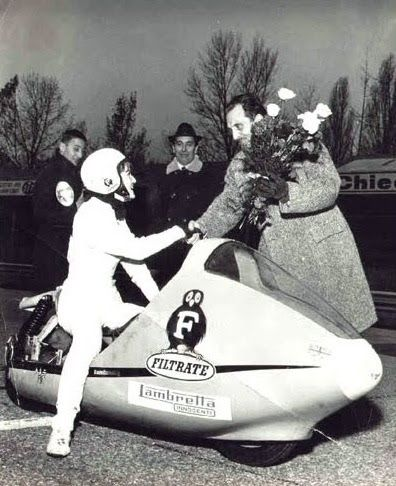 Marlene Parker on Filtrate Lambretta