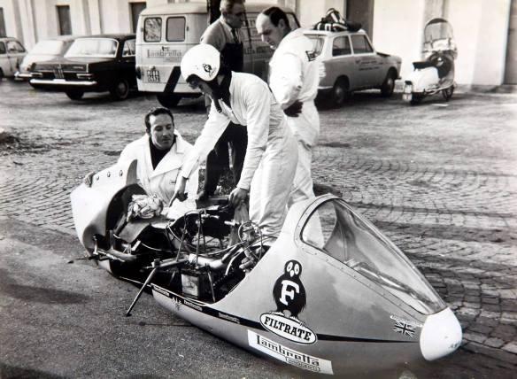 Marlene Parker Filrate Lambretta Record  Attempt