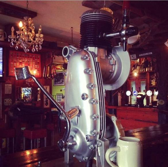 Lambretta Beer Pump