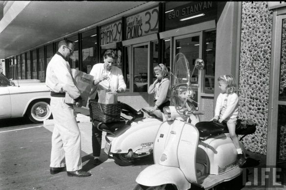Motor Scooter Squabble in California, ca. 1960s (8)