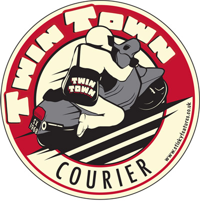 Twin Town Courier Logo