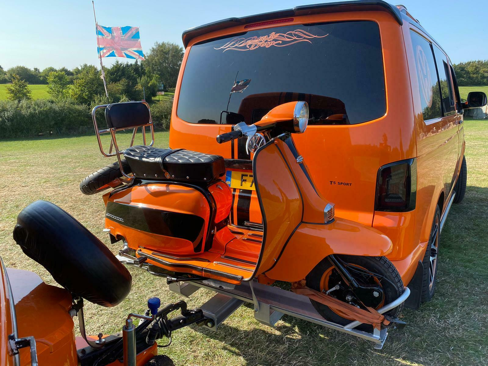The Ultimate Bogof Buy This Lambretta And Get A Free Vw Transporter Camper Oh And A Caravan Lambrettista Net